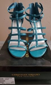 Christian Siriano heeled sandals
